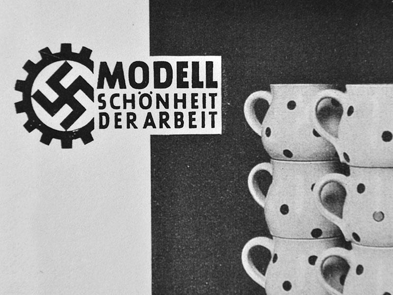 gehört auch zur Bürgeler Geschichte: Kantinengeschirr für das NS-Regime