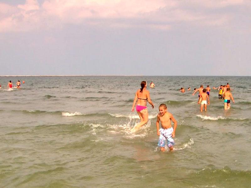 ein Traum wird wahr – die Kinder sehen zum ersten Mal das Meer