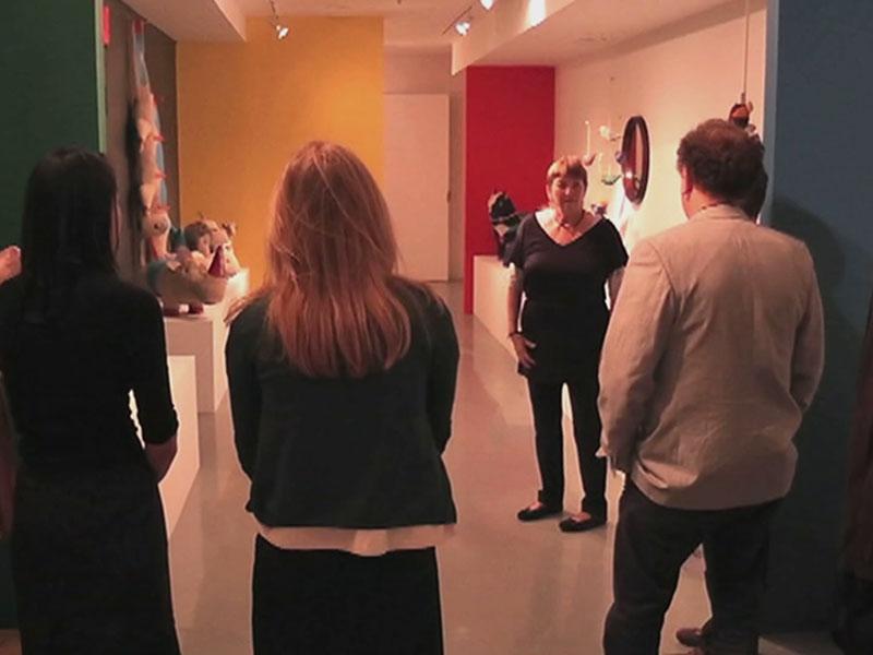 verdiente Auszeichnung: die Rupfentiere im MOMA (Museum of Modern Art) in New York