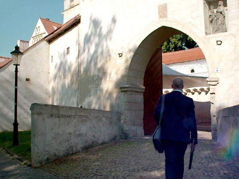 mein Weg führt mich in die historische Altstadt der Saalestadt Naumburg