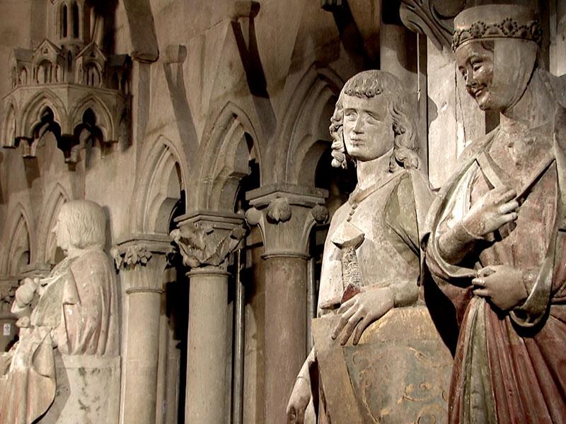sie sind die Krönung hochmittelalterlicher Skulptur – die weltberühmten Stifterfiguren im Naumburger Dom