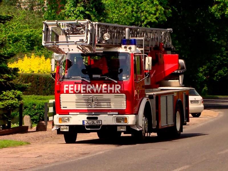 die Feuerwehr ist oft für den Storchenhof im Einsatz
